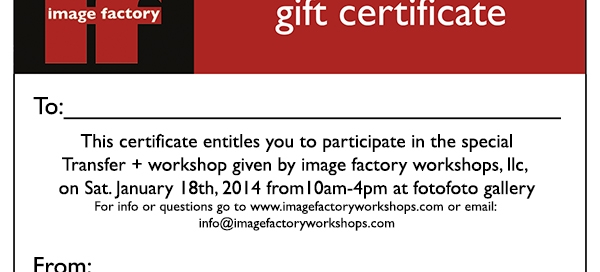 gift certificateWP